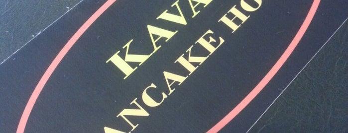 Kava's Pancake House is one of Locais curtidos por Maria.