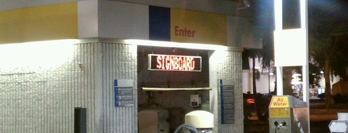 Shell is one of Posti che sono piaciuti a Dan.