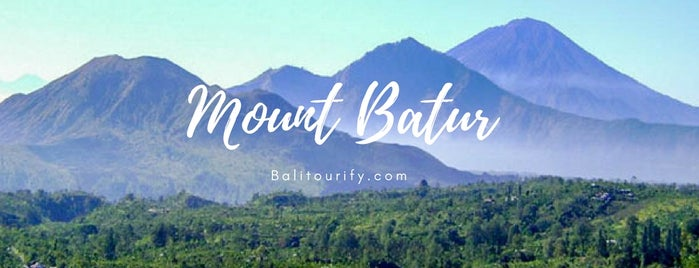 Kintamani Batur Mountain View is one of Bali🔖🗾.