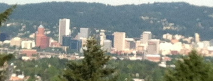 Summit of Mt. Tabor is one of Portland Adventures.