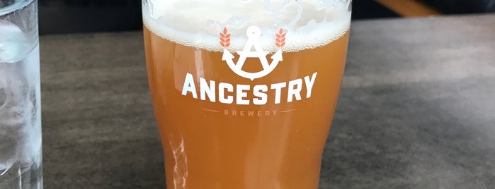 Ancestry Brewing is one of Portland, OR.