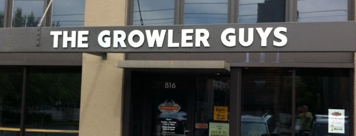 The Growler Guys is one of Portland.