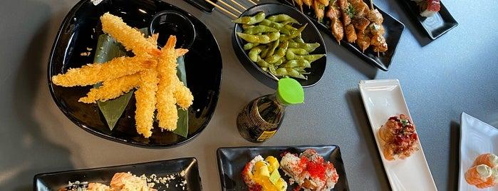 Domó Sushi is one of Tempat yang Disukai Haluk.