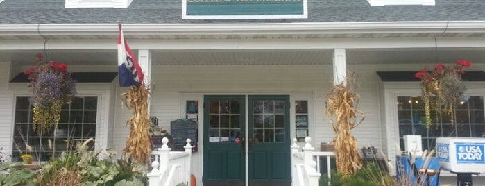 Door County Coffee & Tea Co. is one of Orte, die Evan[Bu] gefallen.