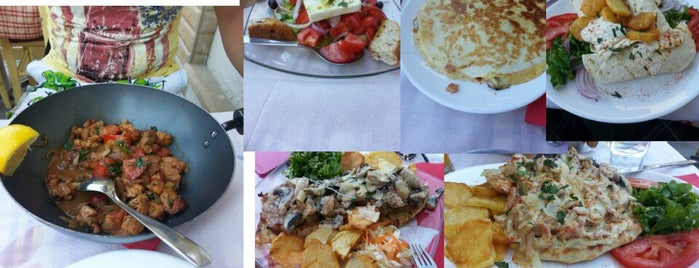 Μεζέ Μεζέ is one of Greek Food Hangouts.