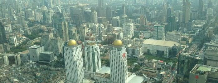 Baiyoke Tower1 is one of Thailand.