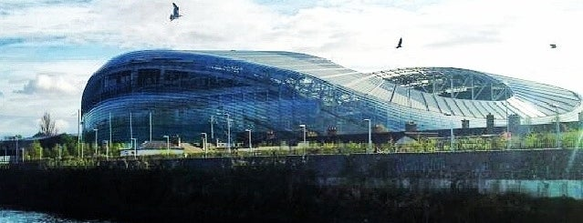 Aviva Stadium is one of Hans Zimmer — Irish Pub.