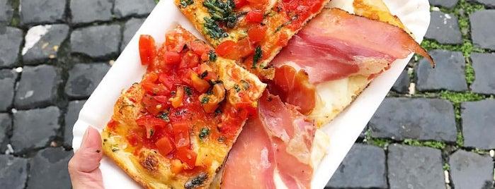Pizza al taglio is one of roma.