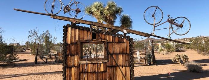 Noah Purifoy Outdoor Desert Museum is one of joshua springs.