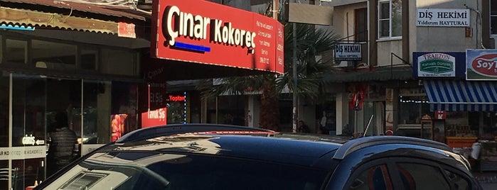 Çınar Kokoreç is one of Tempat yang Disukai Enise.