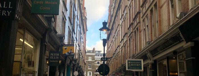 Cecil Court is one of London.