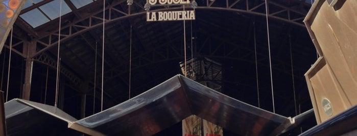 Mercat de Sant Josep - La Boqueria is one of Barcellona Da vedere.