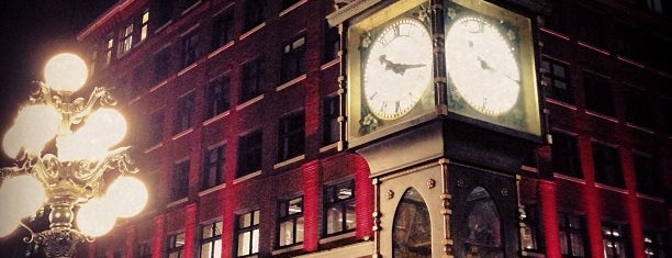 Gastown Steam Clock is one of Vancouver/Seattle.