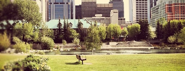 Prince's Island Park is one of Great City Parks in the United States and Canada.