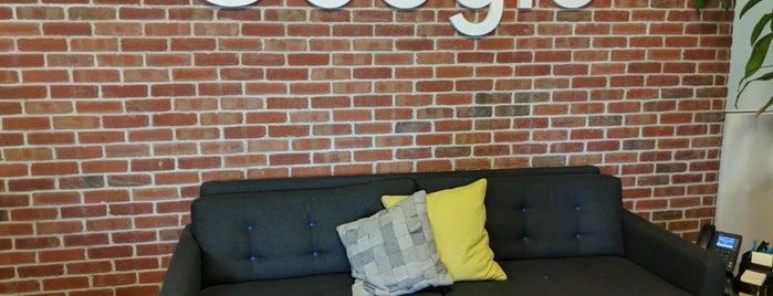 Googleplex - 1667 is one of Varun : понравившиеся места.