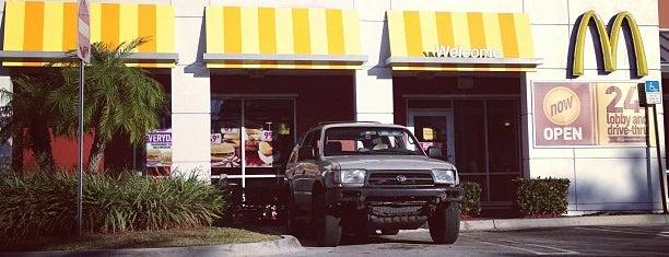 McDonald's is one of Lieux qui ont plu à Liz.