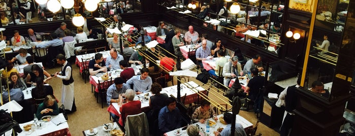 Bouillon Chartier is one of Paris!.
