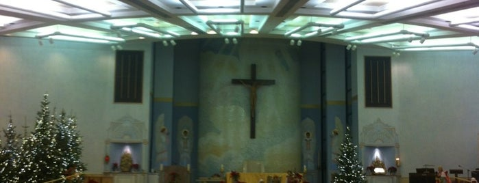 Shrine of the Most Holy Redeemer is one of Dexter's to do list 2.