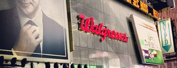 Walgreens is one of New York.