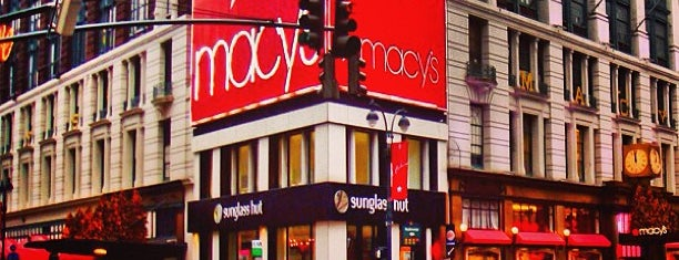 Macy's is one of NYC Basic List.