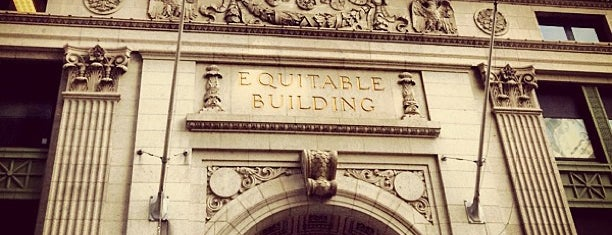 Equitable Building is one of Architecture - Great architectural experiences NYC.