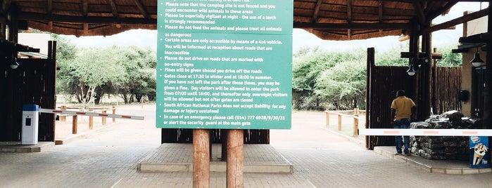 Marakela National Park is one of África do Sul.