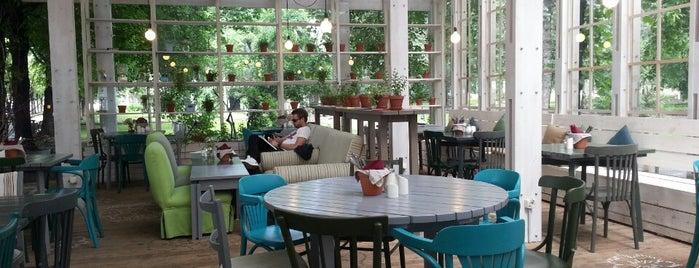 Теплица is one of кафе, пабы, рестораны.
