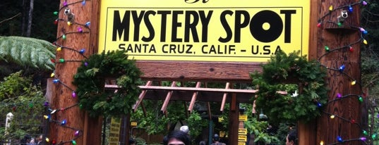 Mystery Spot is one of Northern CALIFORNIA: Vintage Signs.