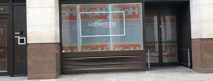 The CoffeeWorks Project is one of London Coffee.