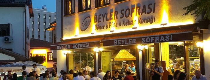 Beyler Sofrası is one of Ankara YE ✅.
