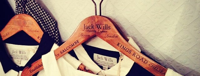 Jack Wills is one of  Shop.