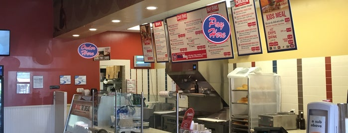 Jersey Mike's Subs is one of ed 님이 좋아한 장소.
