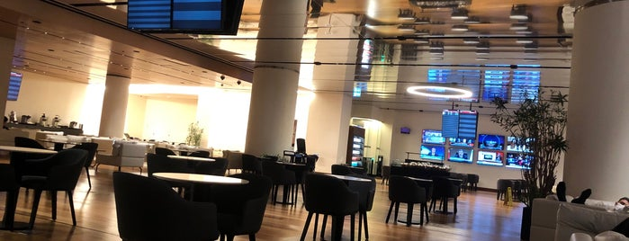Turkish Airlines Domestic Lounge is one of Lieux qui ont plu à Girit.