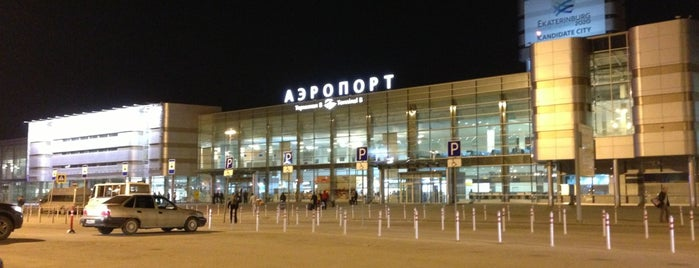 Koltsovo International Airport (SVX) is one of Airports (around the world).