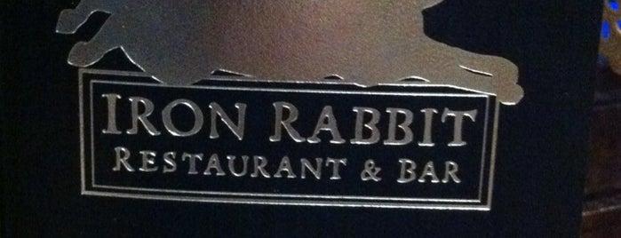 Iron Rabbit is one of Olympia Vegan Spots.