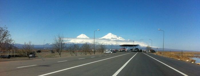 Dilucu Sınır Kapısı is one of สถานที่ที่ Arzu ถูกใจ.