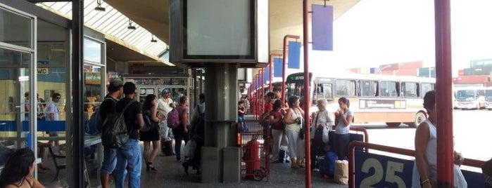 Terminal Baltasar Brum is one of Tempat yang Disukai Diego.