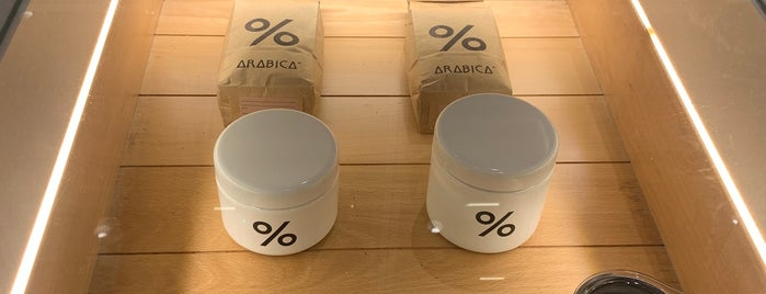 % Arabica is one of Check-in 2019.