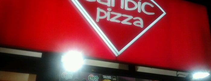 Caribic Pizza is one of Okan'ın Beğendiği Mekanlar.