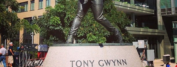 Tony Gwynn Statue is one of Check In Out - San Diego.