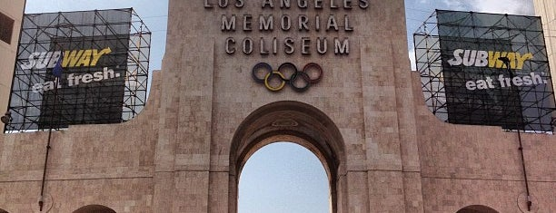Los Angeles Memorial Coliseum is one of The Most Popular Football Stadiums in the US.