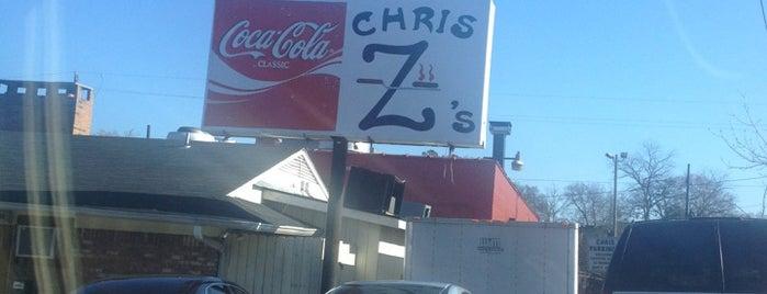 Chris Z's is one of Birmingham Restaurants.