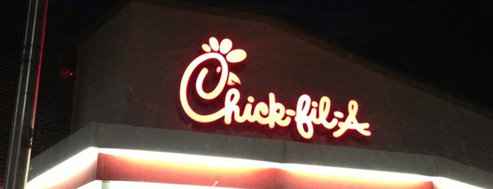 Chick-fil-A is one of Lugares favoritos de DaByrdman33.