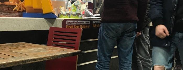 Burger King is one of Aydın'ın Beğendiği Mekanlar.