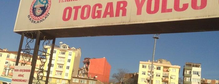 Tekirdağ Şehirler Arası Otobüs Terminali is one of Posti che sono piaciuti a Burak.