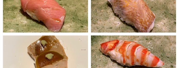 Sushi Wadatsumi is one of HK Michelin.