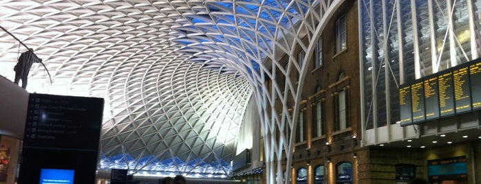 London King's Cross Railway Station (KGX) is one of London 2013 Tom Jones.