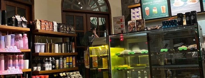 Starbucks is one of Canggu+.