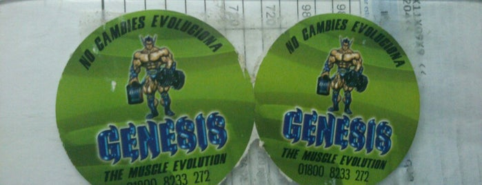 Tienda De Nutricion Genesis is one of gym.
