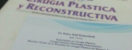 Cirugía Plástica y Estética  Dr. Pedro Krasnokuki is one of Locales con beneficios para nuestros alumnos.